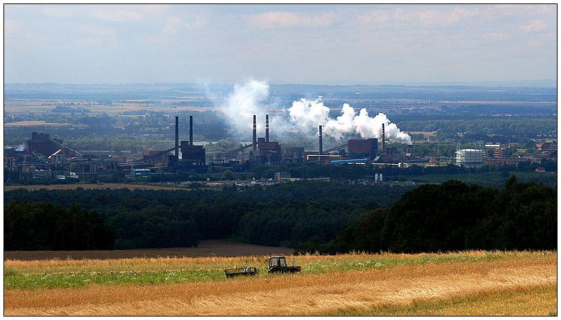 Industrie und Landwirtschaft in Oberschlesien...