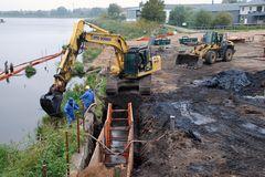 Industriealtlasten an der Warnow werden beseitigt