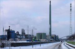 Industrieanlage im Winterkleid 1