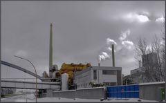 Industrieanlage im Winterkleid 2