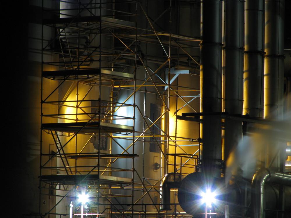 Industrieanlage in Kelheim