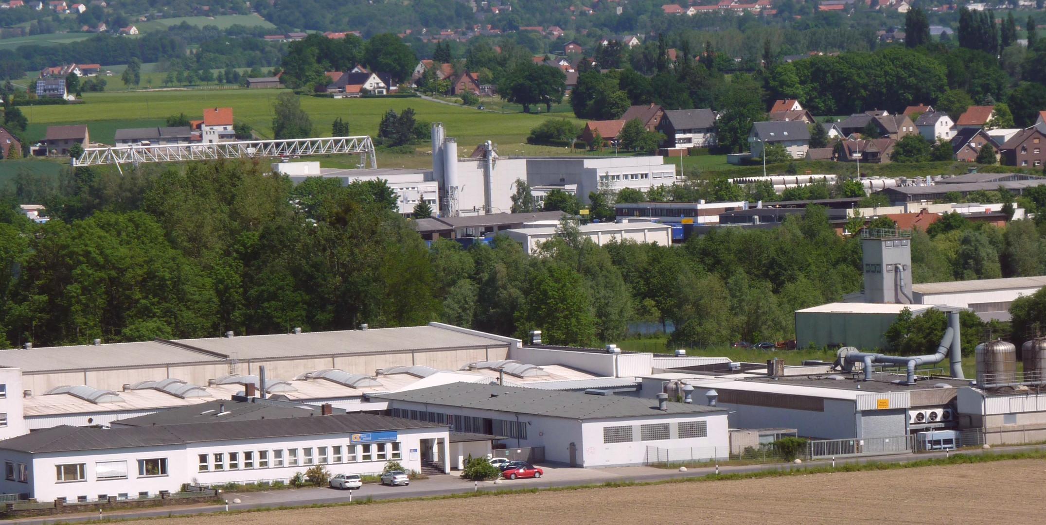 Industrieansiedlungen in Löhne Gohfeld