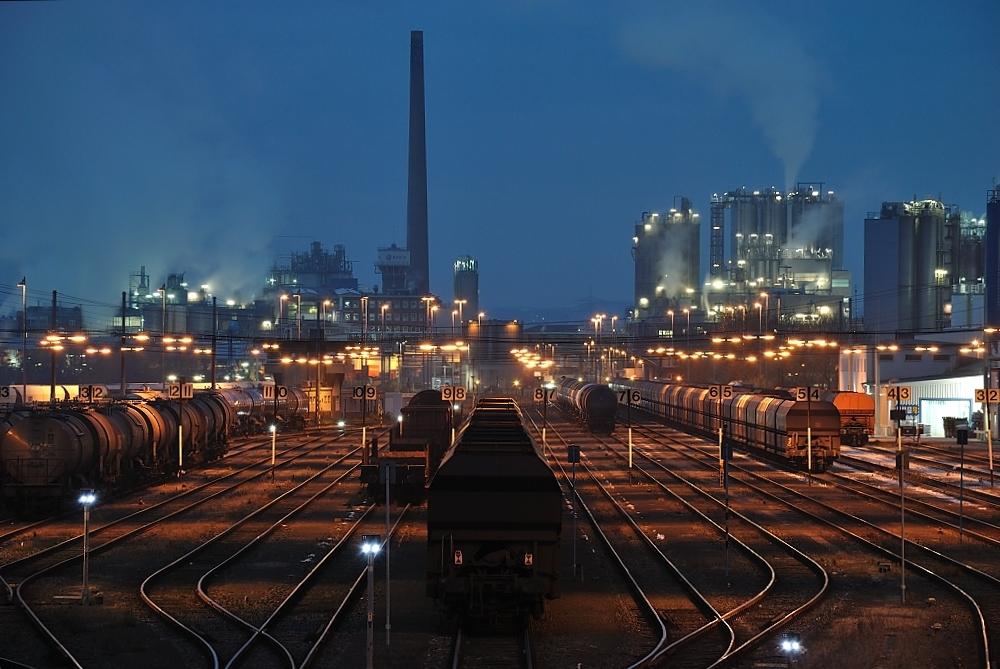Industriebahnhof...