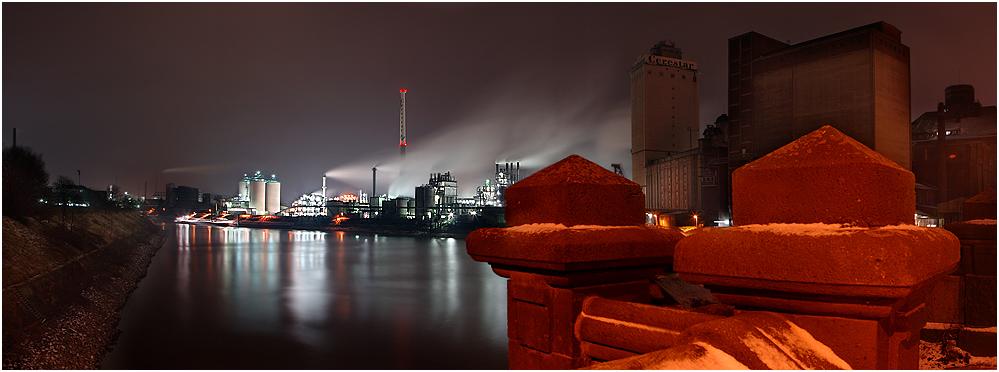 IndustrieCoolTour - Cerestar - Krefeld Hafen