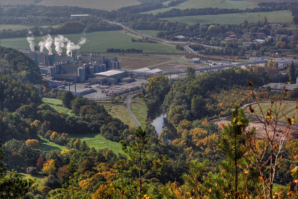 Industriegebiet in HDR