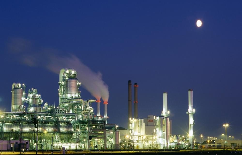 Industriegebiet Maasvlakte