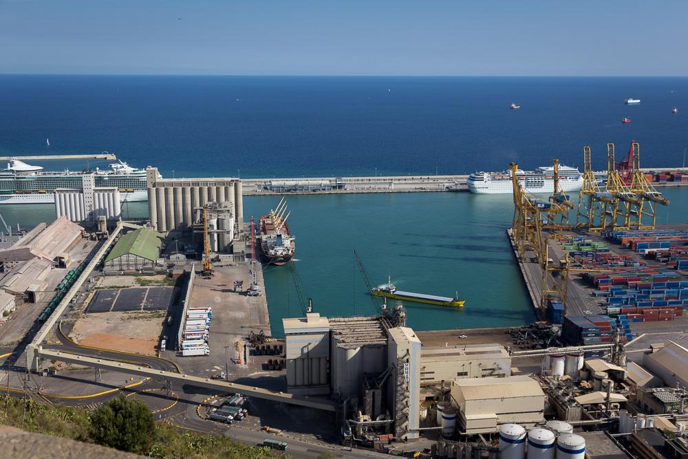 Industriehafen Barcelona