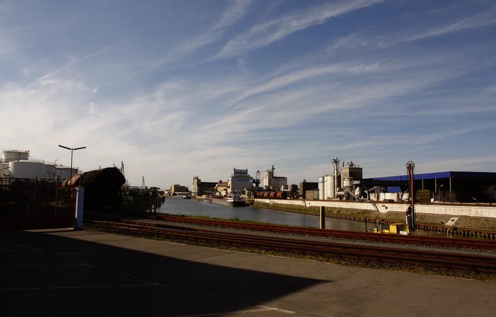 Industriehafen Hanau