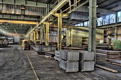 Industriehalle für Wellstahl