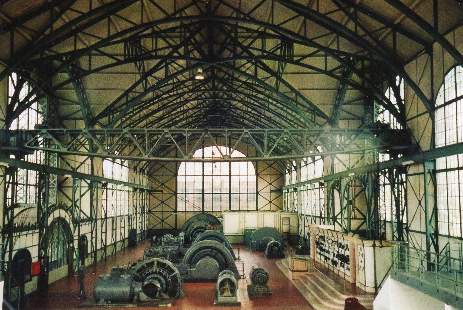 Industriehalle in Ruhestand
