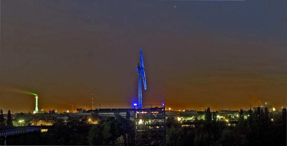 Industriepanorama Duisburg