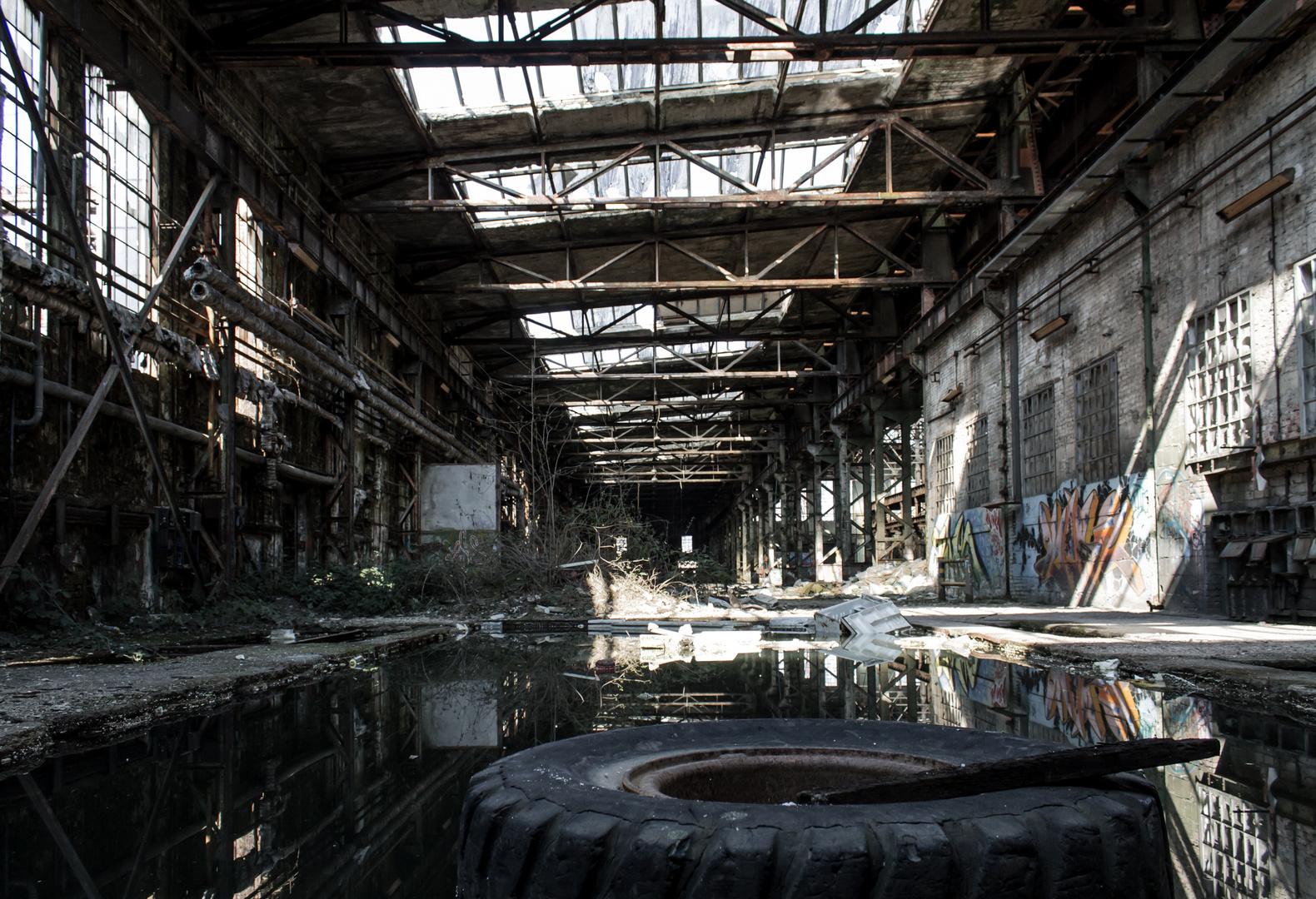 Industrieruine in Trier