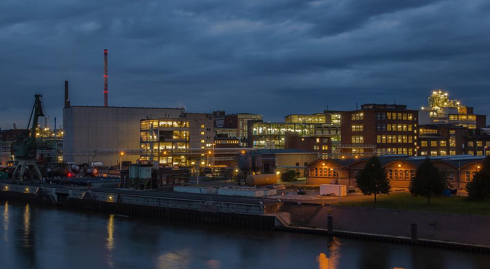 Industriewerk in Höchst bei Frankfurt