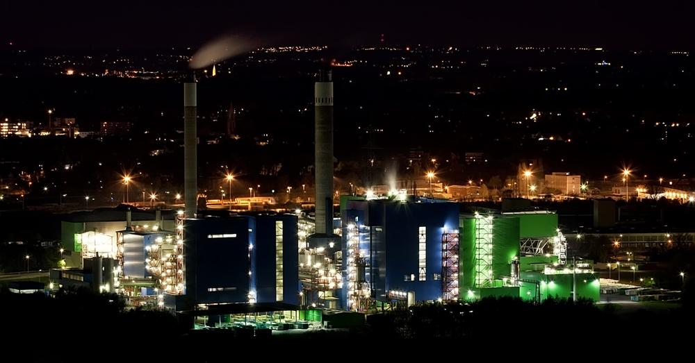Industry at Night I