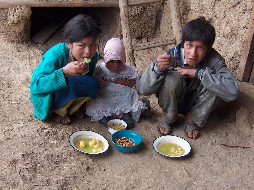 INFANCIA Y POBREZA EN PERU