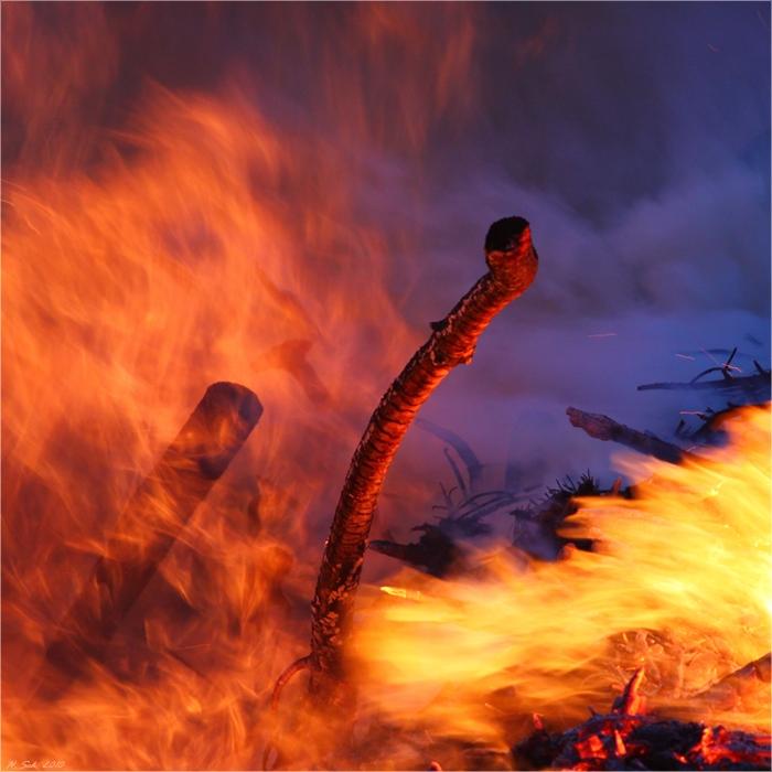 Inferno heiß