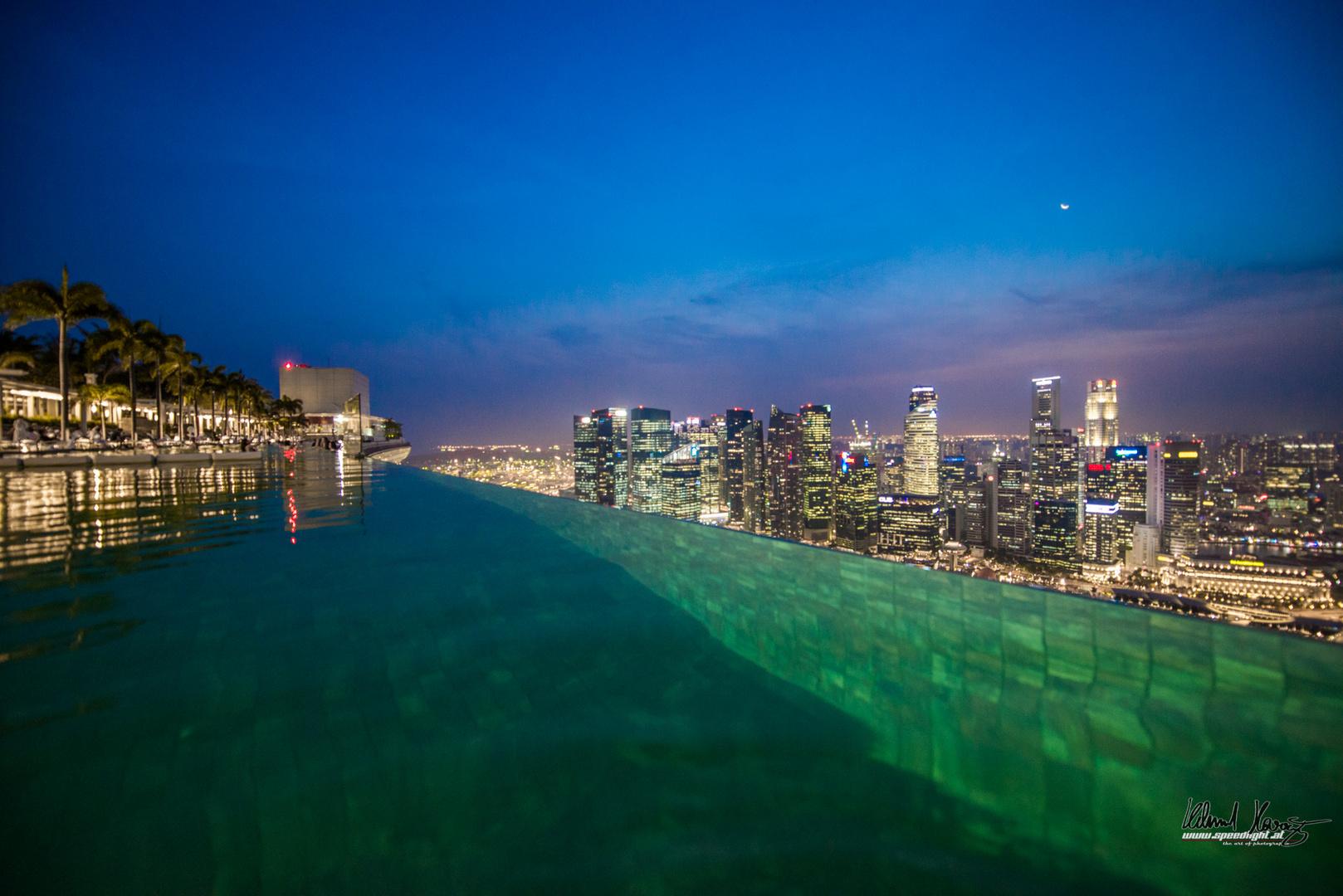 Infinity Pool, Marina Bay Sands, Singapur