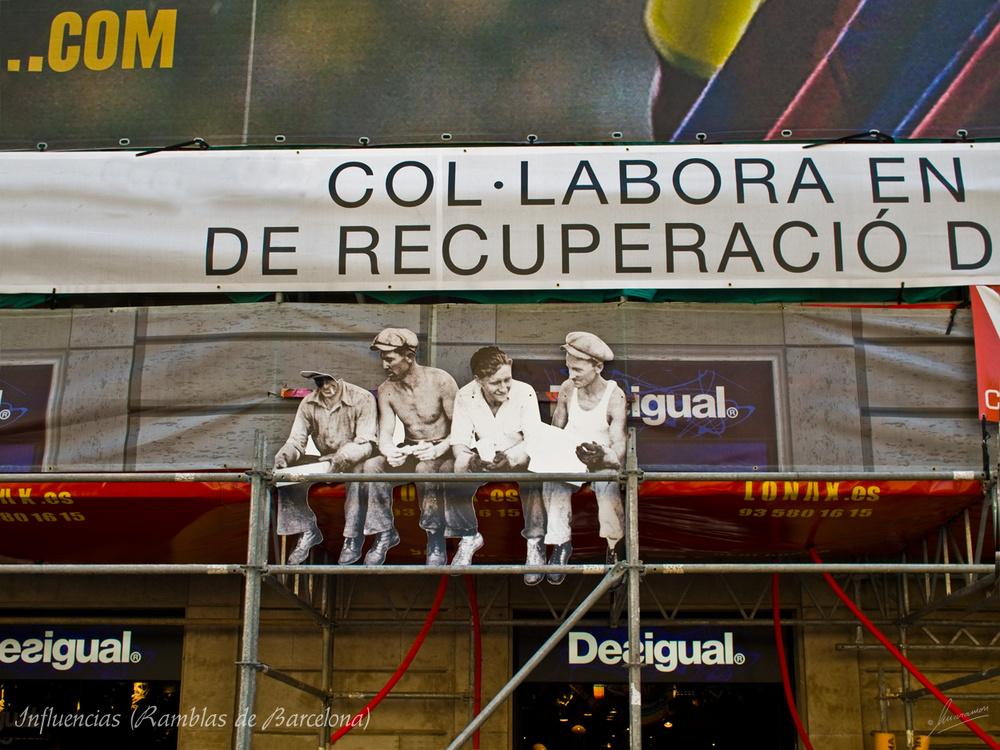 Influencias ( Ramblas de Barcelona )