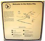 "Info screen ""Ochre Pits"", 1"