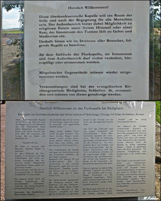 Info zur Flurkapelle