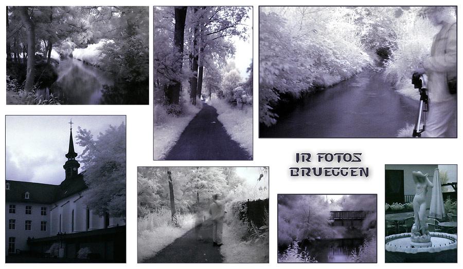 Infrarot-Bilder-Collage