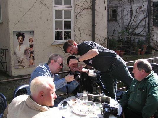 Infrarot Diskussion ... in Tübingen