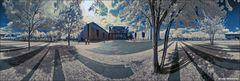 Infrarot-Panorama: Kanzleramt