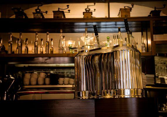 infuso di caffè idrocompresso