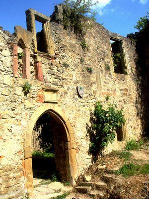 Ingang zur Burg