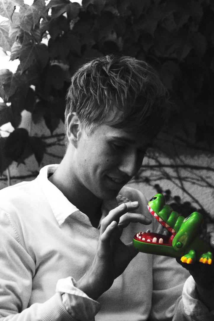 Inge und das böse Krokodil :>