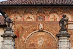 Ingresso della Certosa di Pavia