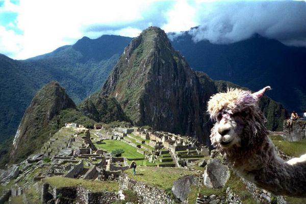 Inka-Bewohner