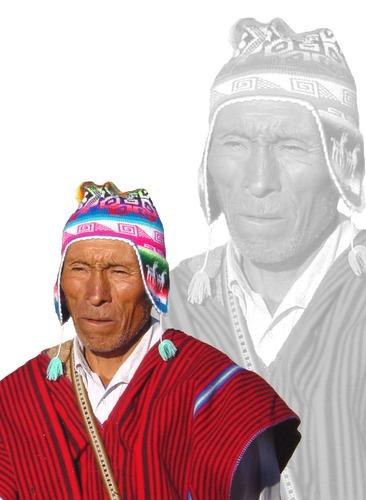 Inka- Priester in Peru