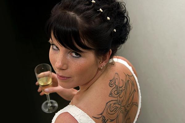 inky bride