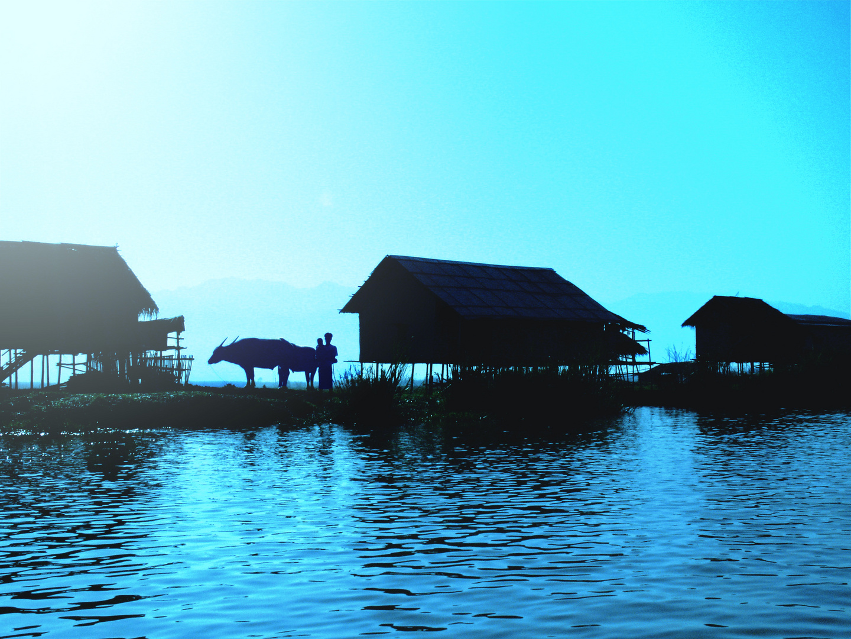 Inle Lake am Morgen