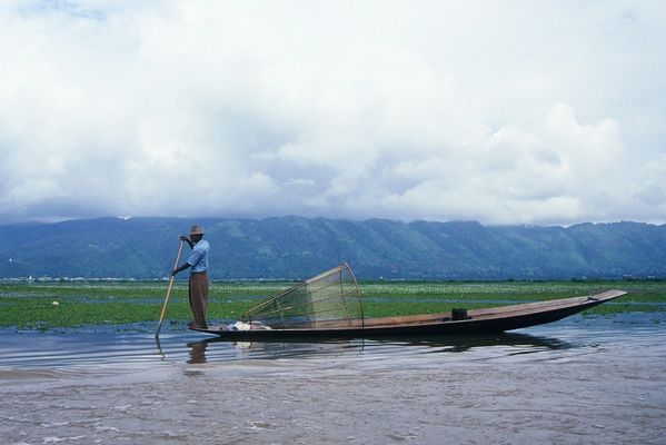 Inle - Pescatore
