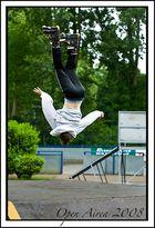 inline skate contest , Open airea Oberhausen