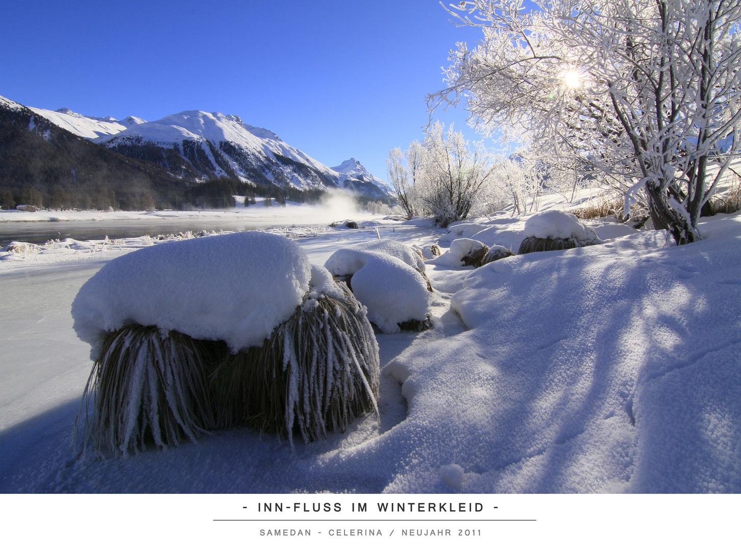Inn-Fluss im Winterkleid II