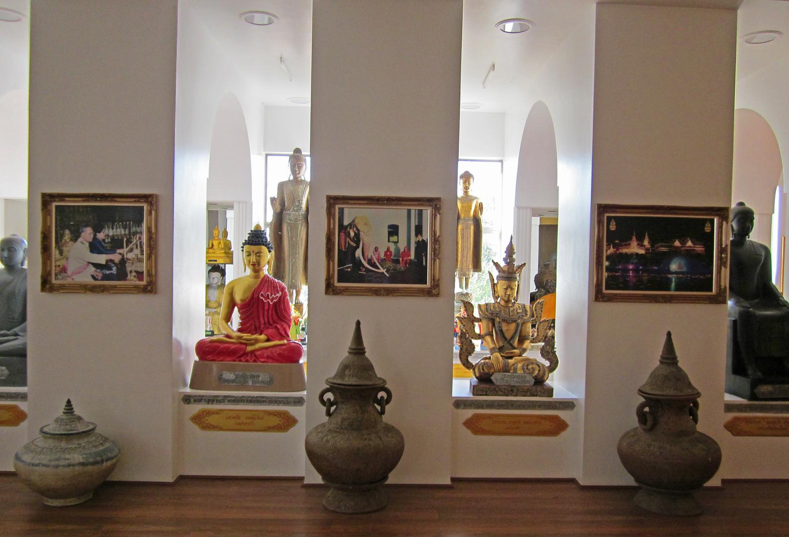 Innansicht Tempelmuseum Tathorn Northailand