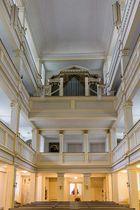 Innenansicht der Jakobskirche in Weimar