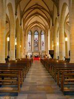 Innenansicht der St.-Georg-Kirche in Bocholt