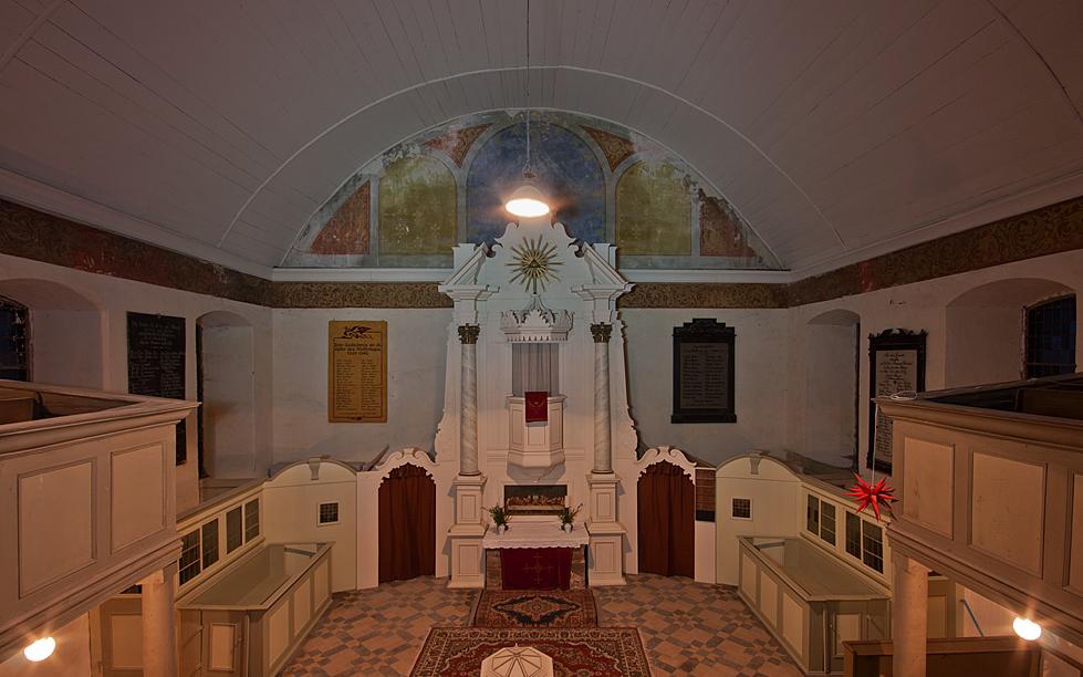 Innenansicht der St. Nicolai Kirche