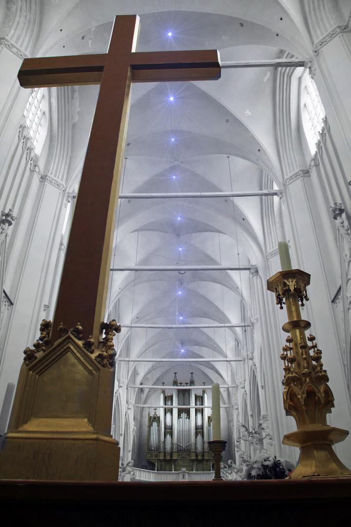 Innenansicht Domkirche Greifswald