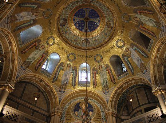 Innenansicht Franz v. Assisi