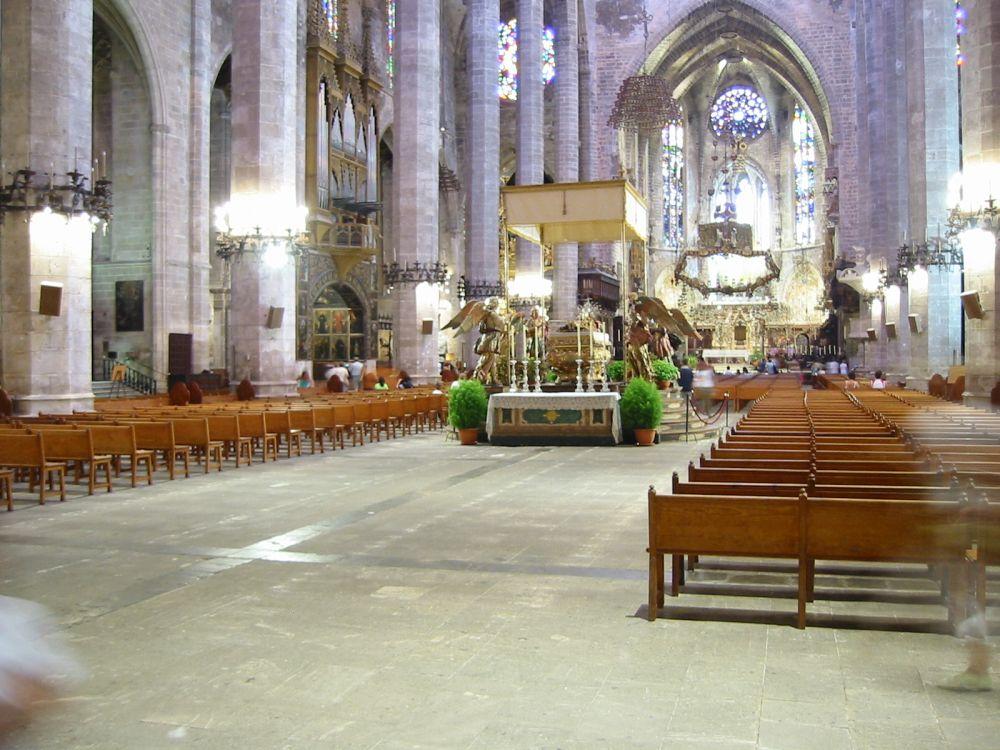 Innenansicht Kathedrale La Seu
