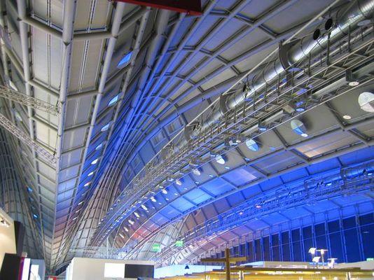 Innenansicht neue Messehalle Frankfurt