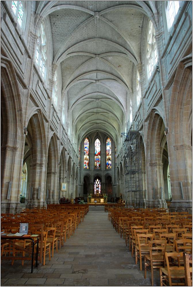 Innenansicht St.-Louis - Blois