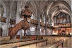 Innenansicht St.-Marien-Kirche Wittstock/Dosse