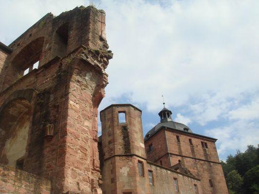 Innenansicht vom Schloss