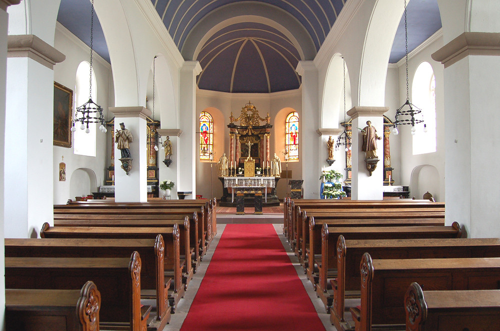 Innenansicht von St.Laurentius